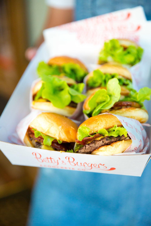 Betty Burger Melbourne Launch -