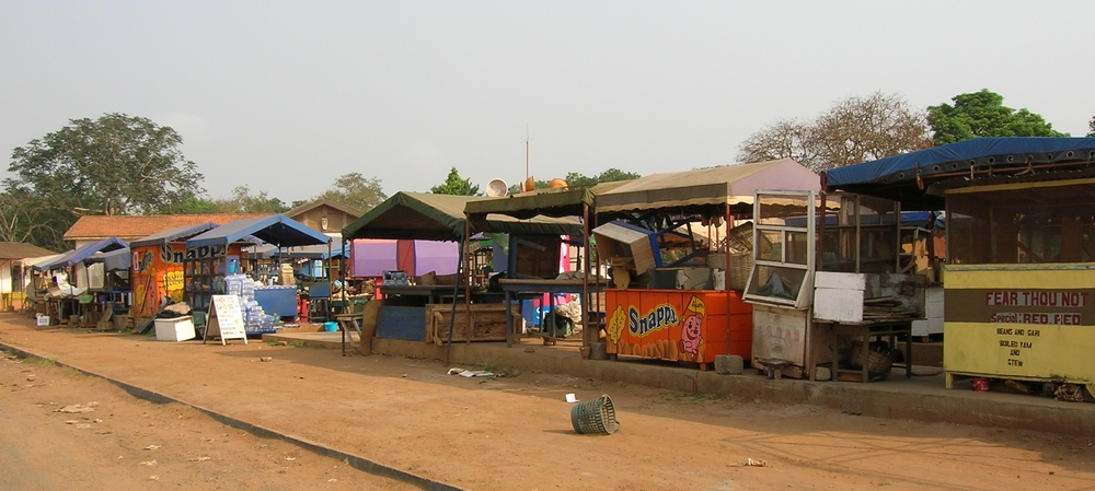 the market at ISH