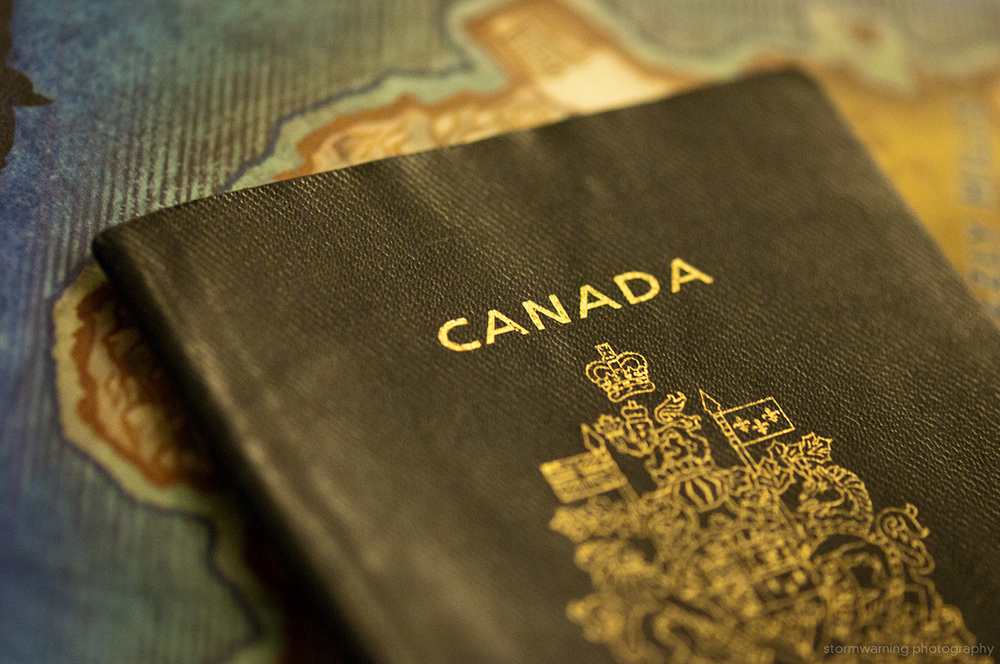 Canadian passport, via Jeff Nelson (Flickr)