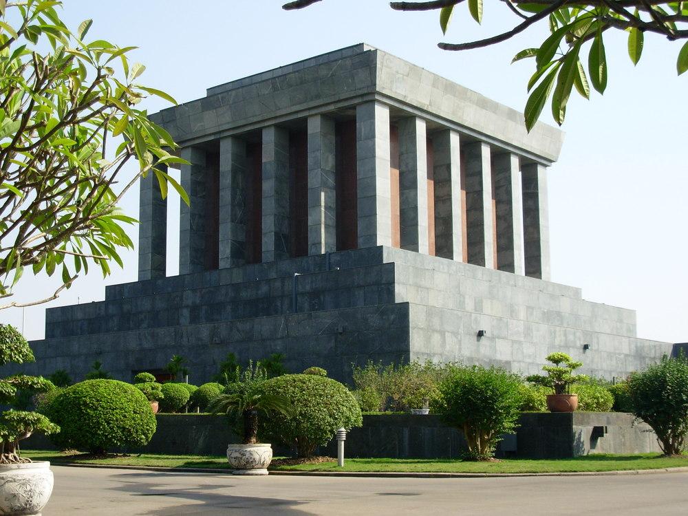 uncle ho's mausoleum
