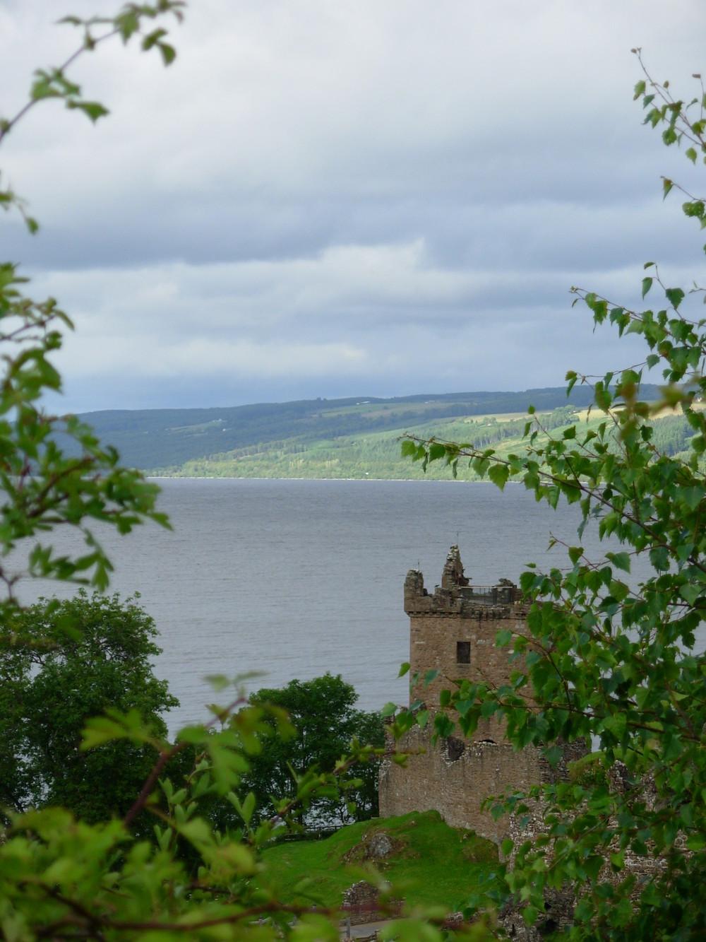 castle at Loch Ness