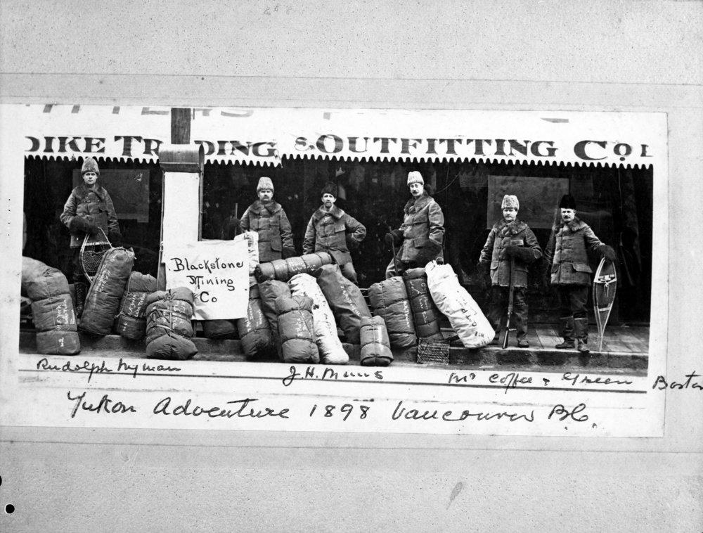 Yukon Adventure 1898, Vancouver B.C. (Vancouver Archives)