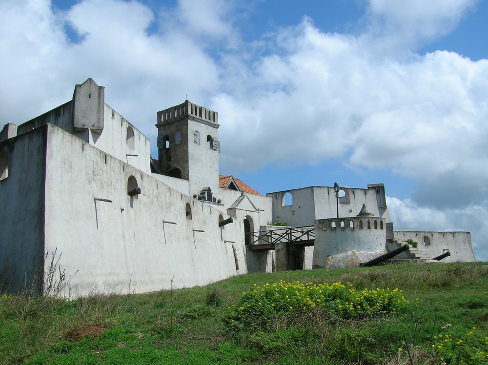 A slave castle in Ghana, where I learned about the slave trade from an African perspective
