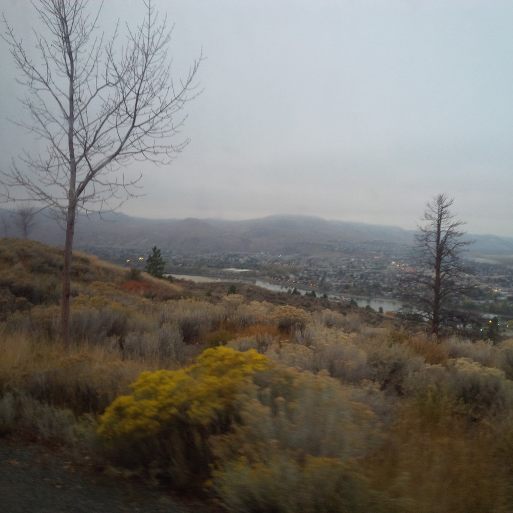 Fall in Kamloops, BC—one of the northernmost cities I've been to in British Columbia