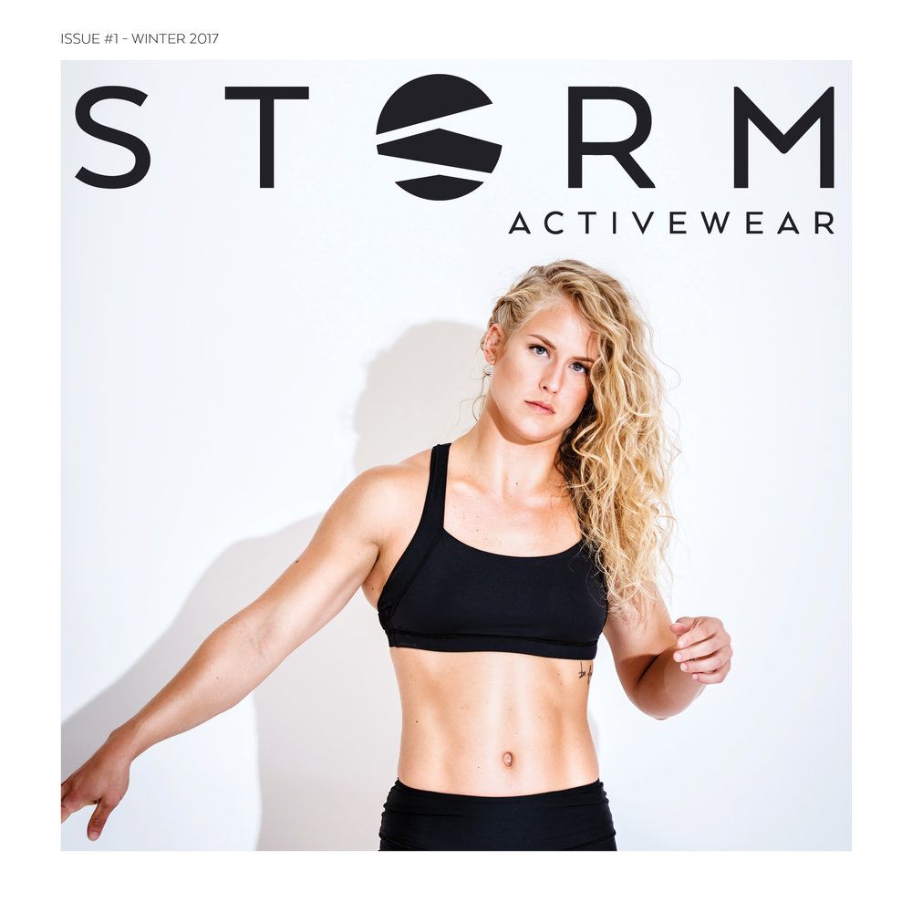 STORM ACTIVEWEAR: ISSUE #1 - WINTER 2017