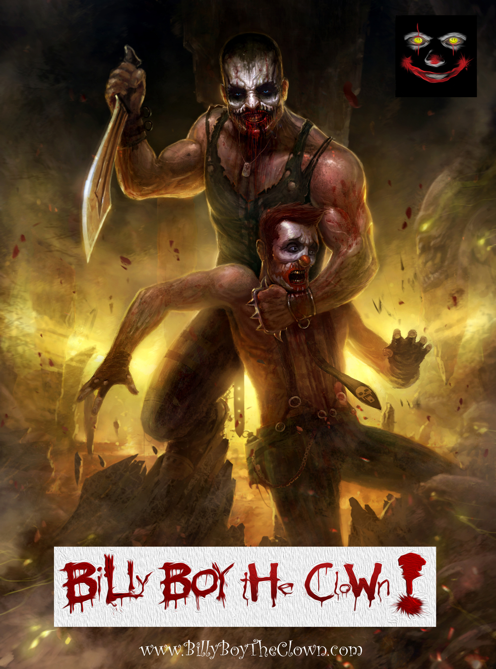 Billy Boy the Clown - William's Perception Graphic Novel - Clockwork Mind Pictures