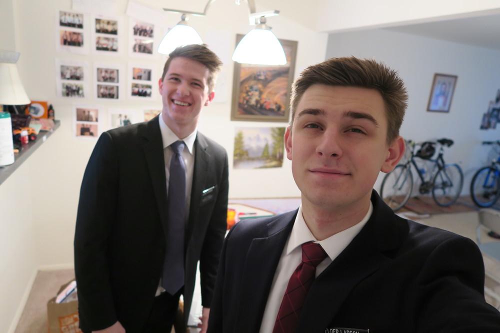 Elder Larson and Elder Larson
