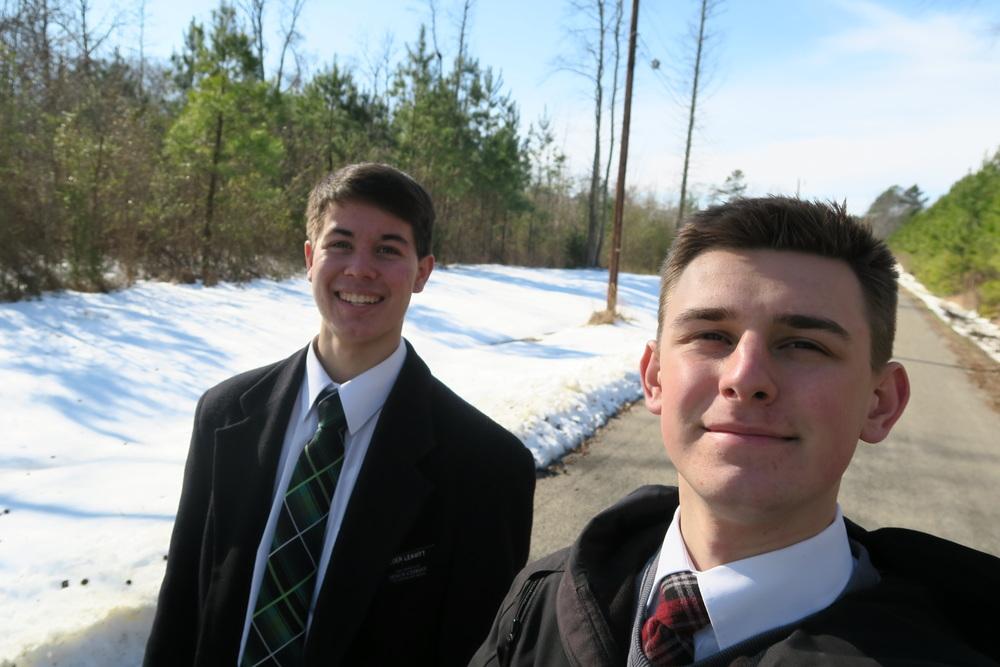 Elder Larson & Elder Leavitt