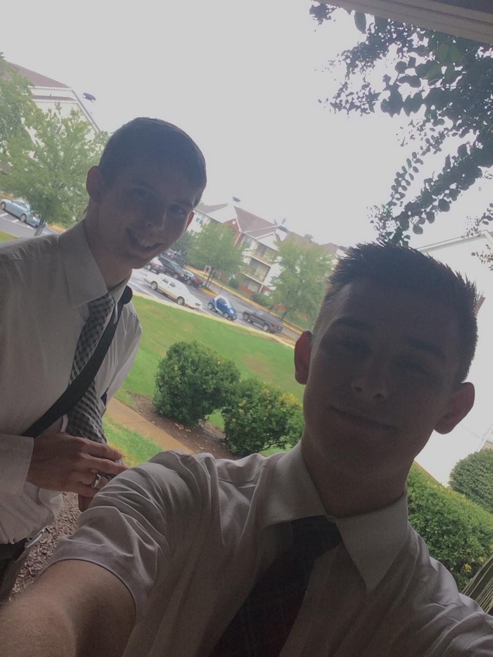 Elder Rhinehart & Elder Larson