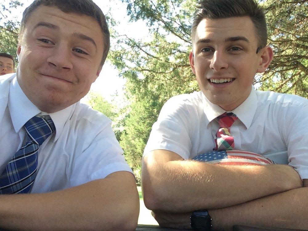 Elder Smelser & Elder Larson