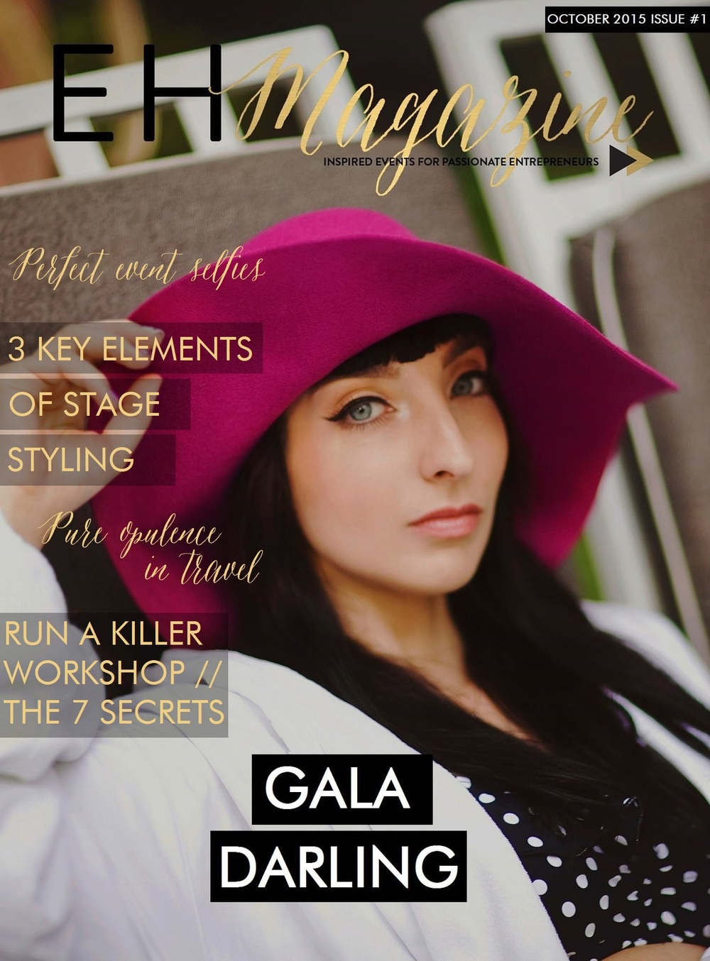Gala Daring EHM Cover - EH Magazine
