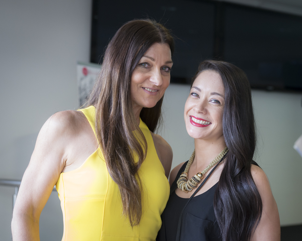 With event MC and Founder of Aromababy, Catherine Cervasio