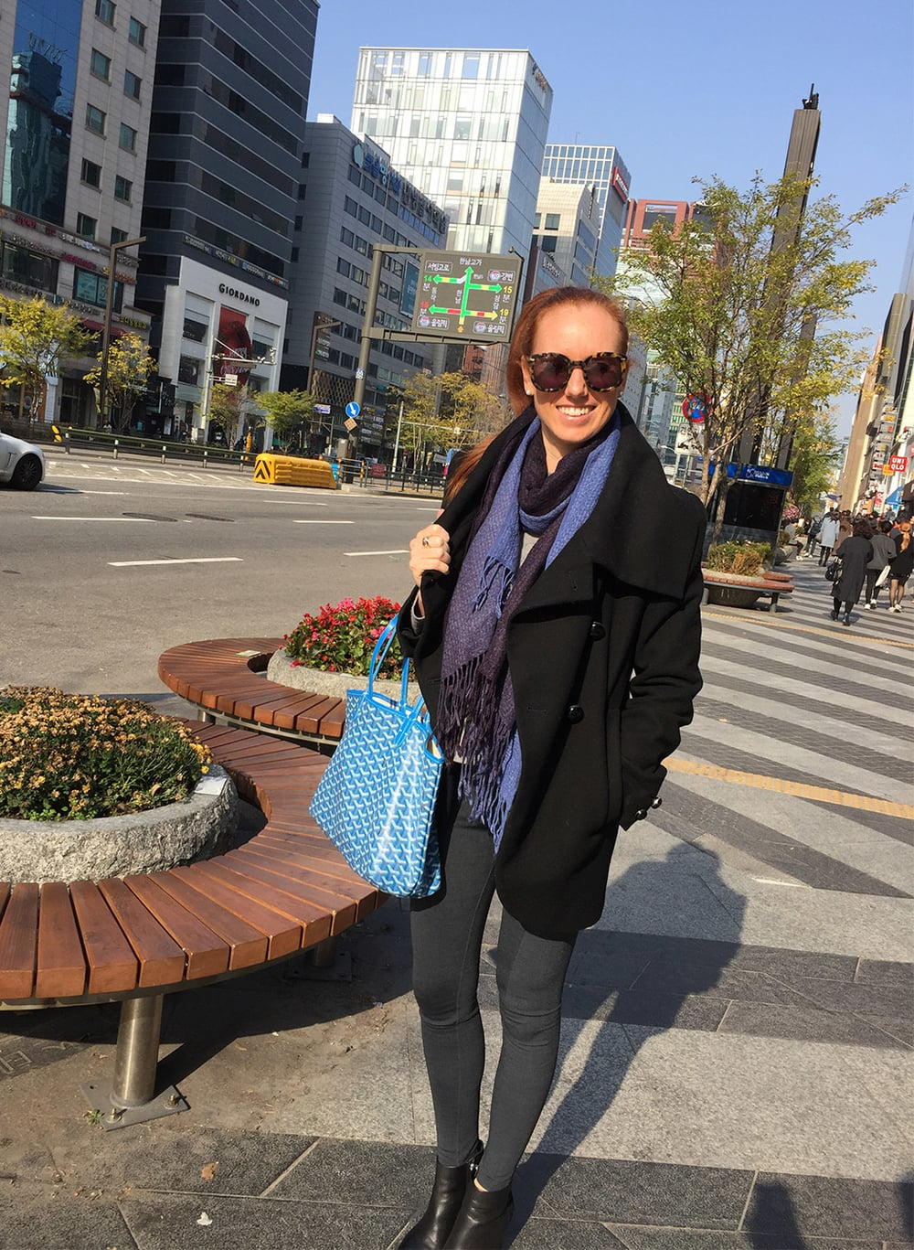 Ainslie in Seoul