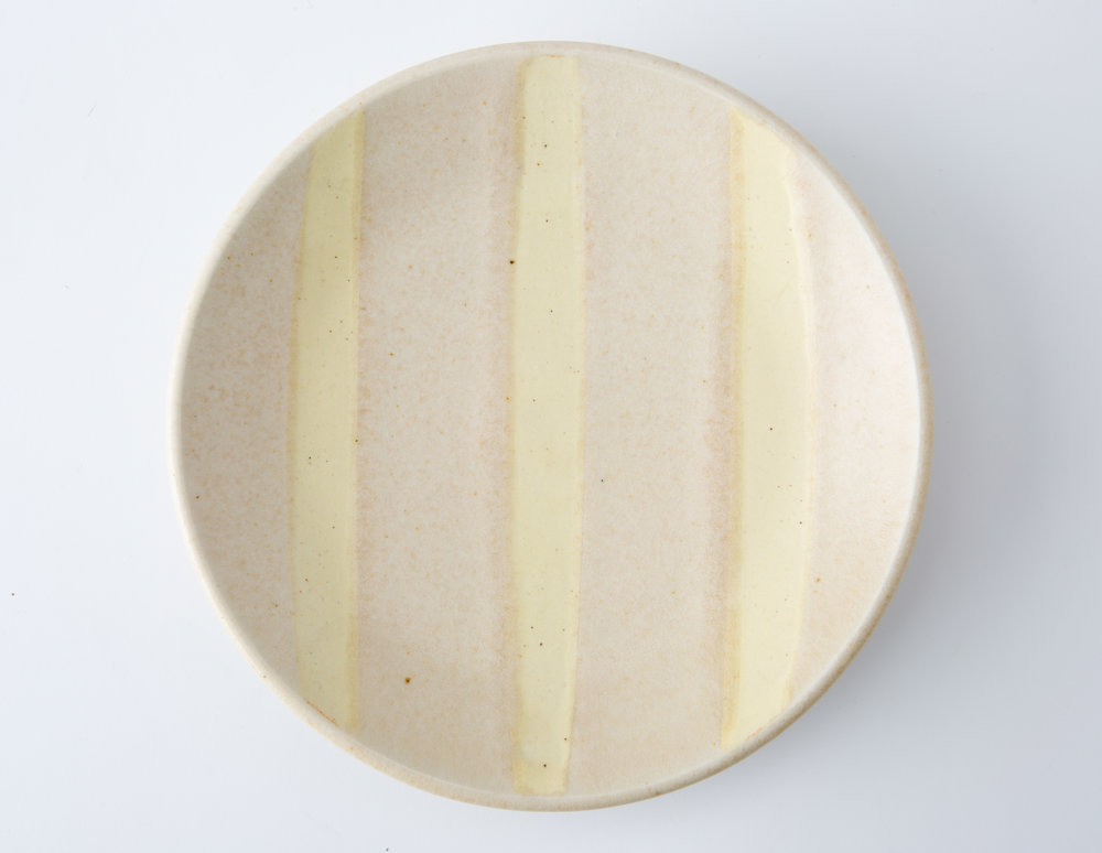 bread plate, cone 9 oxidation porcelain