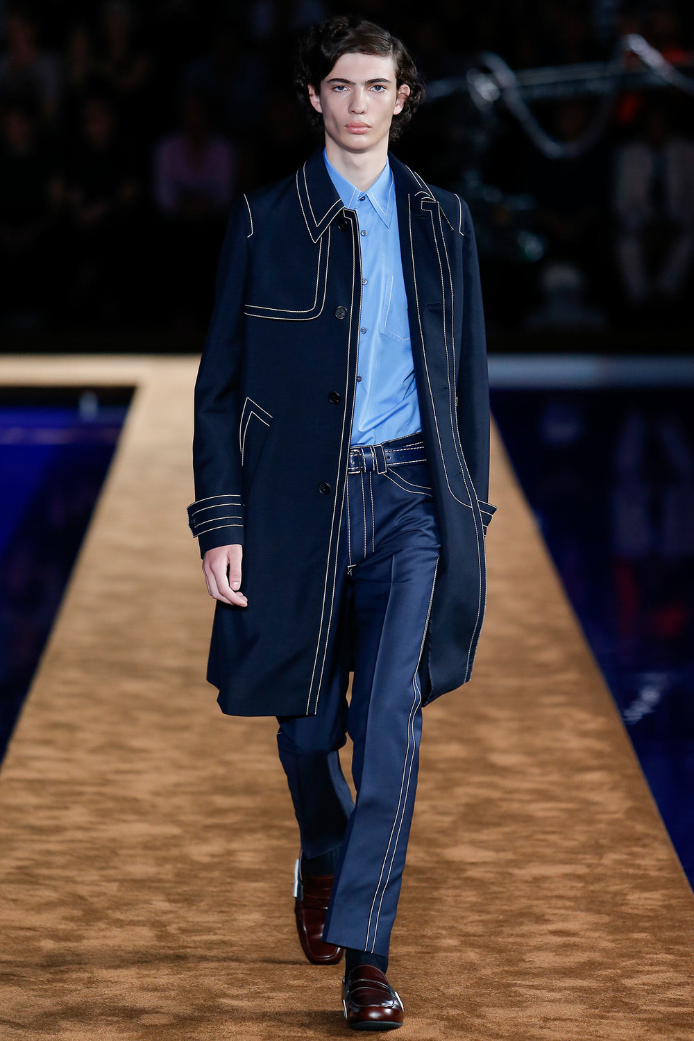 Prada s/s 2015, look 1. Source: Style.com