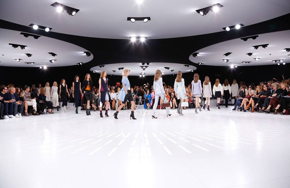 Christian Dior s/s2015 show space by Bureau Betak