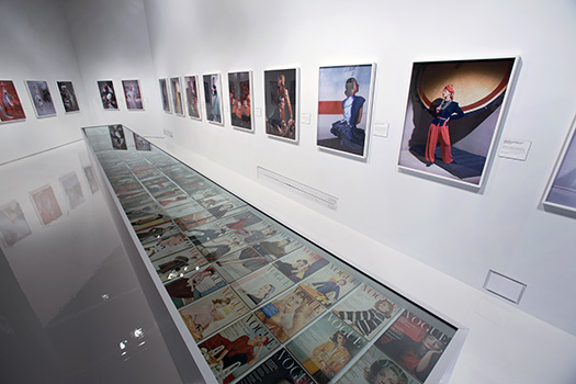 Installation image of 'Horst – Photographer of Style', Victoria and Albert Museum London