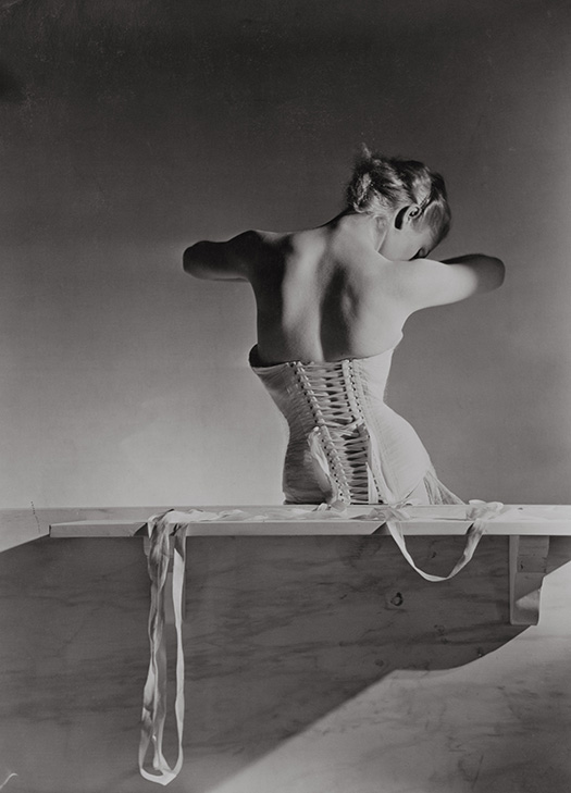 Corset, by Detolle for Mainbocher (1939) Conde Nast Horst Estate