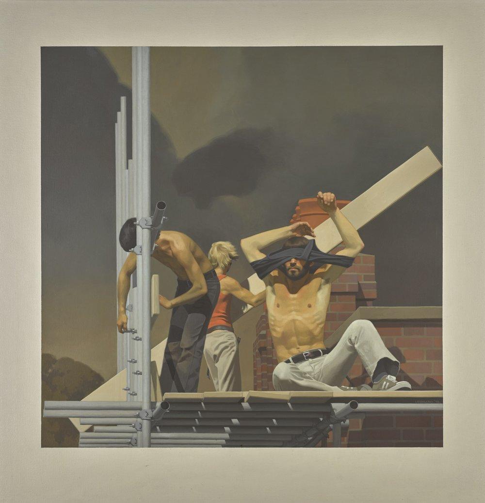 Scaffolders (1978) by Michael Leonard,Estimate £3,000 — £5,000