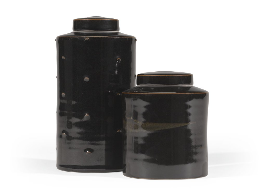 Two Canisters (not dated) by Chris Keenan, Estimate £800 — £1,200