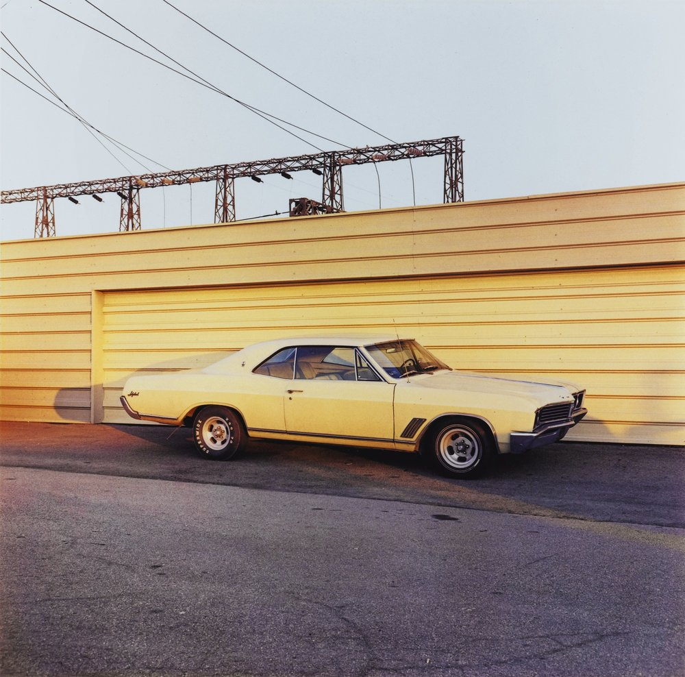 Untitled (Yellow Car), Circa 1976 [printed 1999] by William Eggleston, Estimate EUR 15,000 — 25,000