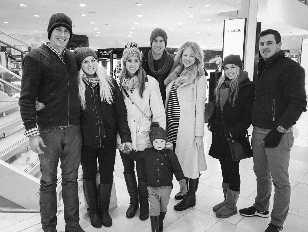 at macy's with the fam! Macy's was sooo impressive