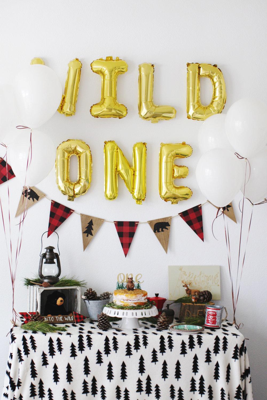 Weston\'s Wild One Birthday Party — erin morris