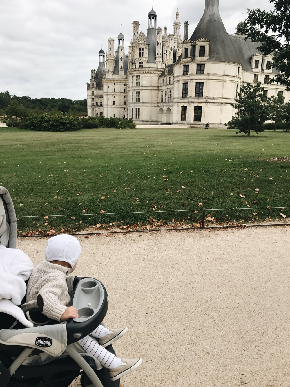 Weston's first glimpse of the chateau. I teared up -- it is such a privliege, gift, and joy to show him the world and he noticed it all and soaked it all in!