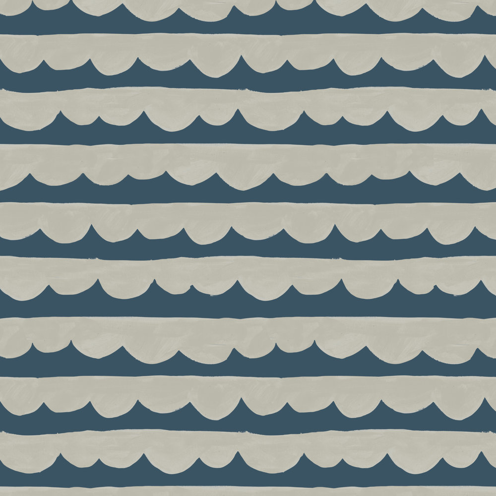 sea and clouds pattern