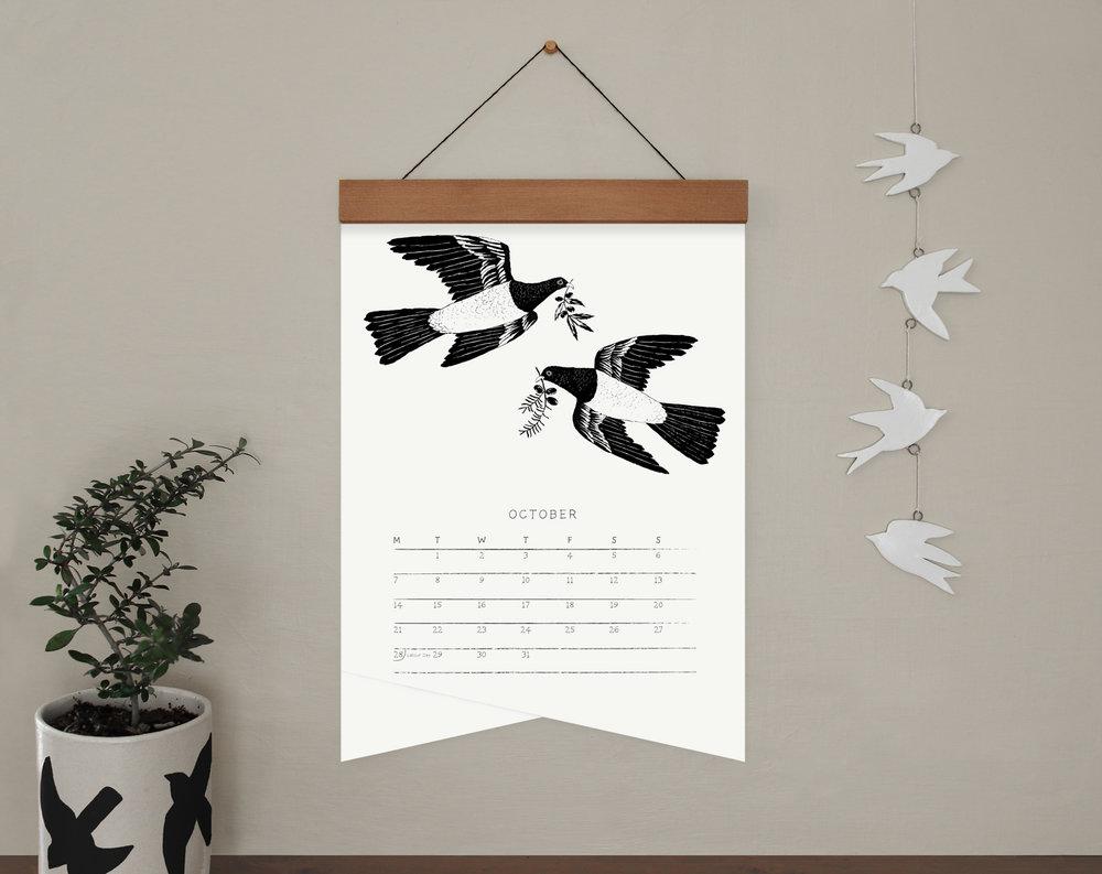 melissa boardman A3 bw calendar wood hanger 11.jpg