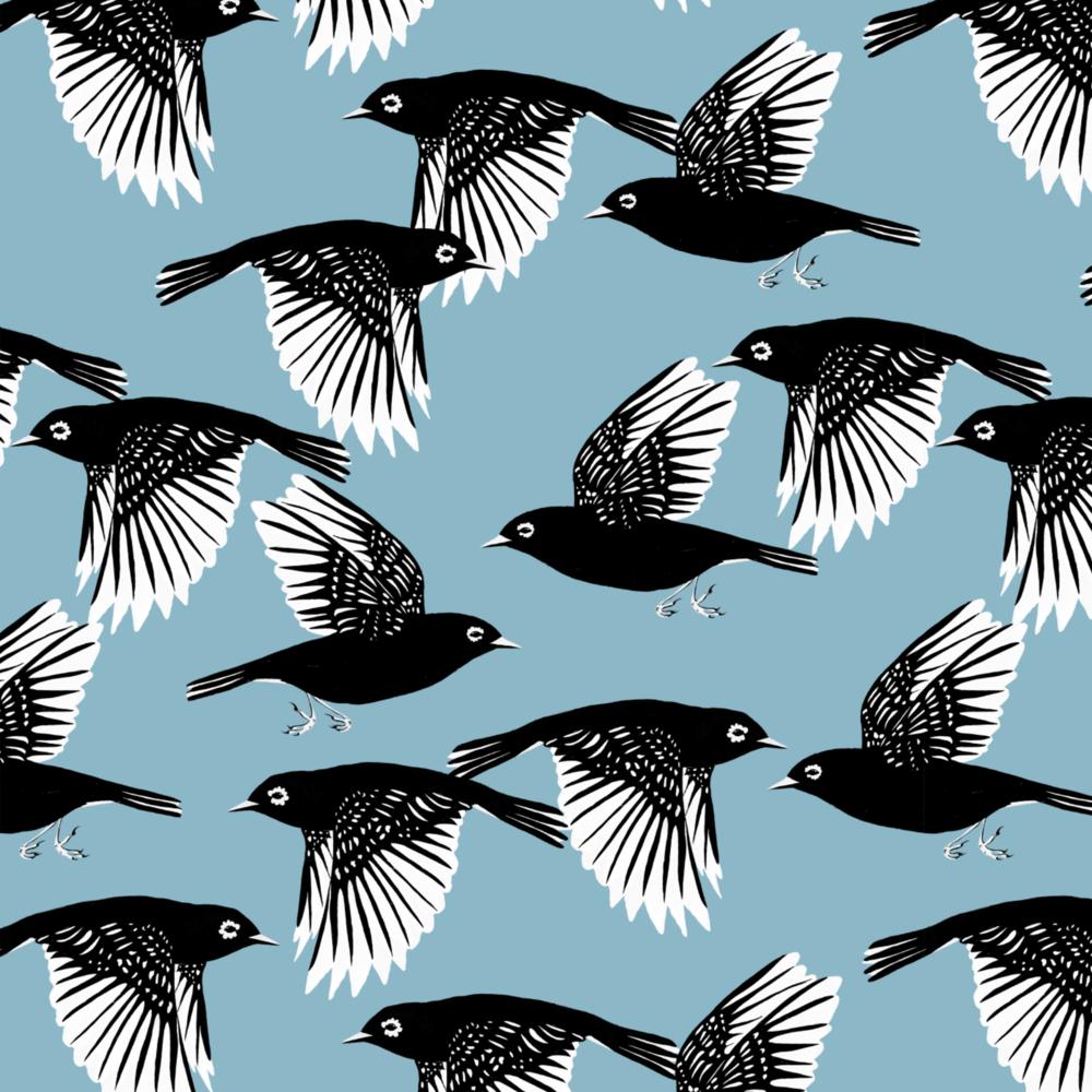 melissa boardman waxeyes graphic bird pattern blue.png