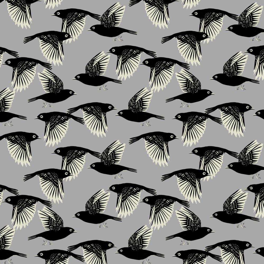 melissa boardman waxeyes pattern grey graphic bird pattern.png
