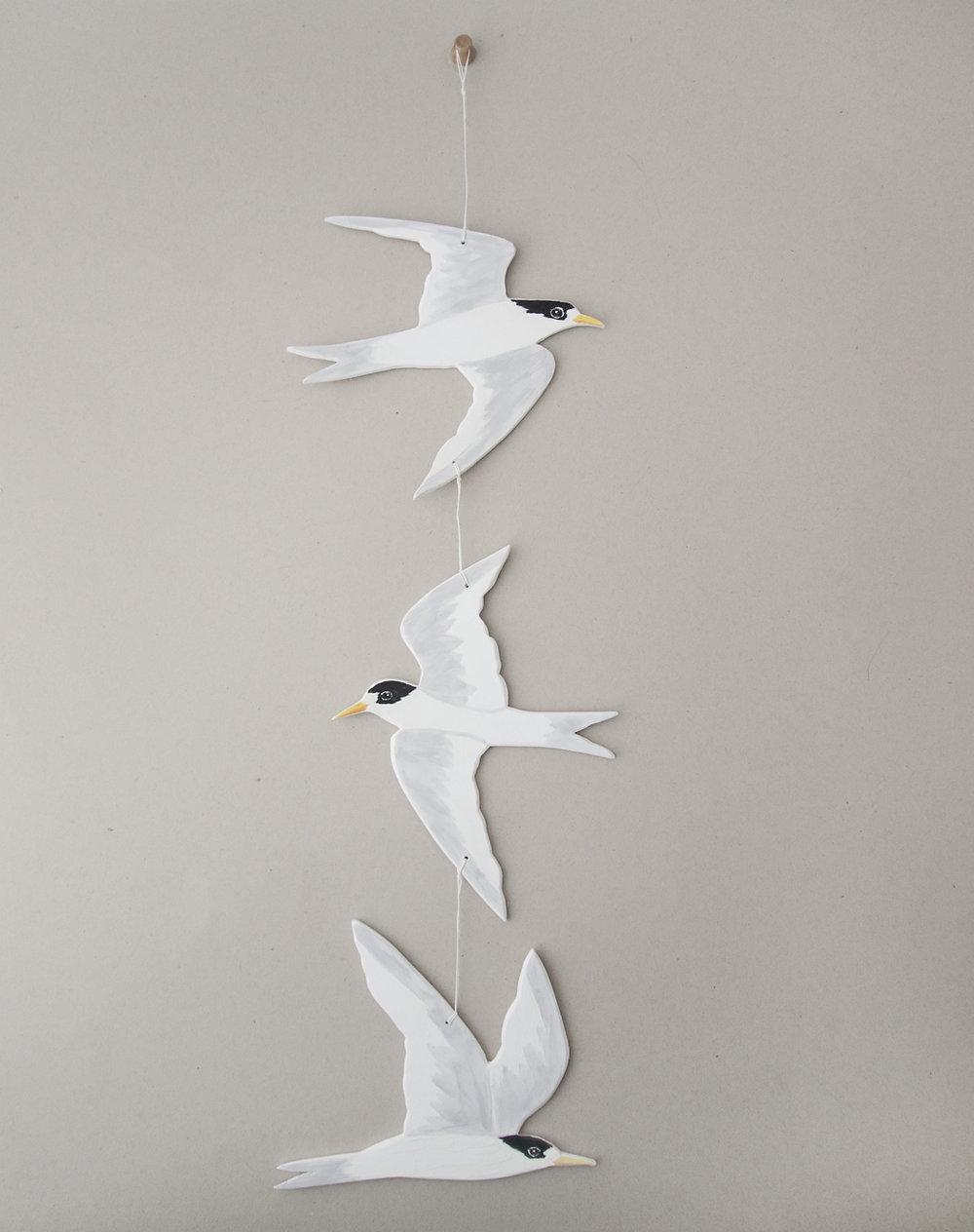 fairy tern ceramic mobile hanging 01.jpg