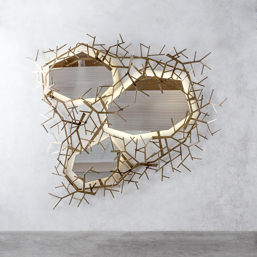 NUVO TWIG MULTI-PIECE MIRROR