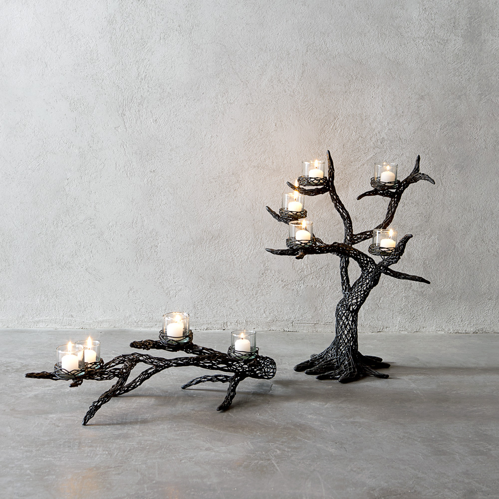 ROOTY CANDLEHOLDERS