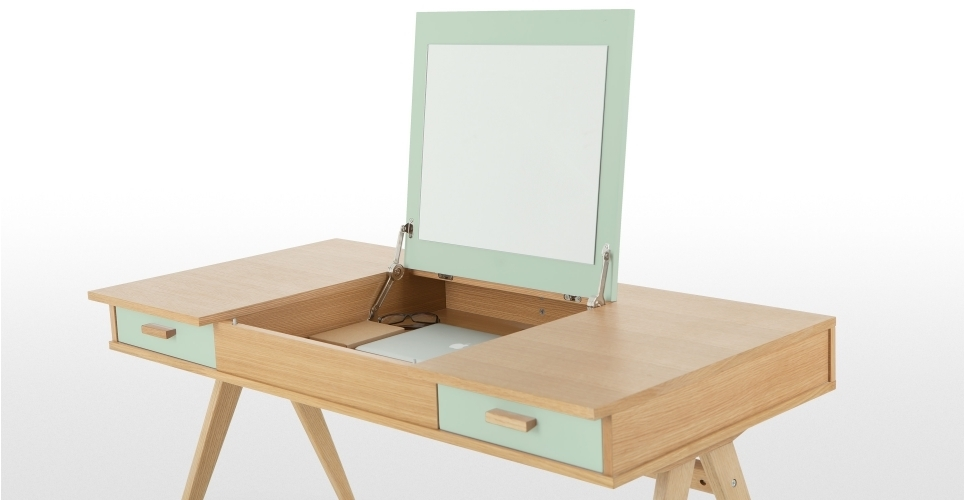 Stroller Desk in Green by Steuart Padwick