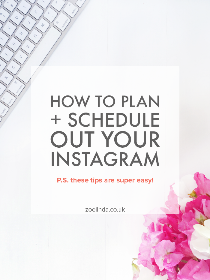 How to Plan + Schedule Out Your Instagram | Get more productive on Instagram by learning how to plan and schedule your Instagram feed. Improve your Instagram and save time with Melissa Hebbe's tips and tricks! Click through to find out more.