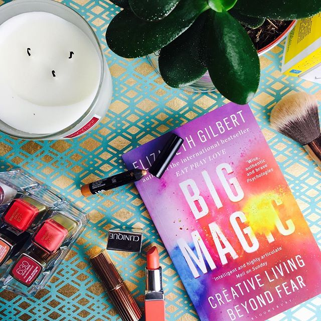 Who else has read Big Magic? I bought it ages ago but finally finished it before Christmas! It is one of the most inspiring books I've ever read - I feel like I'm still learning from it after putting it down. - What are you #currentlyreading? I'm getting through 'The Miracle Morning' - another inspirational read! . . . . . #Bookstagram #Bookish #Bibliophile #Bookstagrammer #BooksOfInstagram #Bookgram #BeautifulBooks #BookGeek #TotalBookNerd #BookBlogger #BookstagramFeatures #BecauseOfReading  #IGReads #Mindfulpreneur #MindfulBiz #TCCTribe #CalledToBeCreative #LiveAuthentically #CommunityOverCompetition #TheArtOfSlowLiving #Soulpreneur #BeingBoss #WomenInBiz #IMMTribe #TheGramGang #SavvyBusinessOwners #OwnItCrushIt #BlogBFFs #BlogAndBeyond