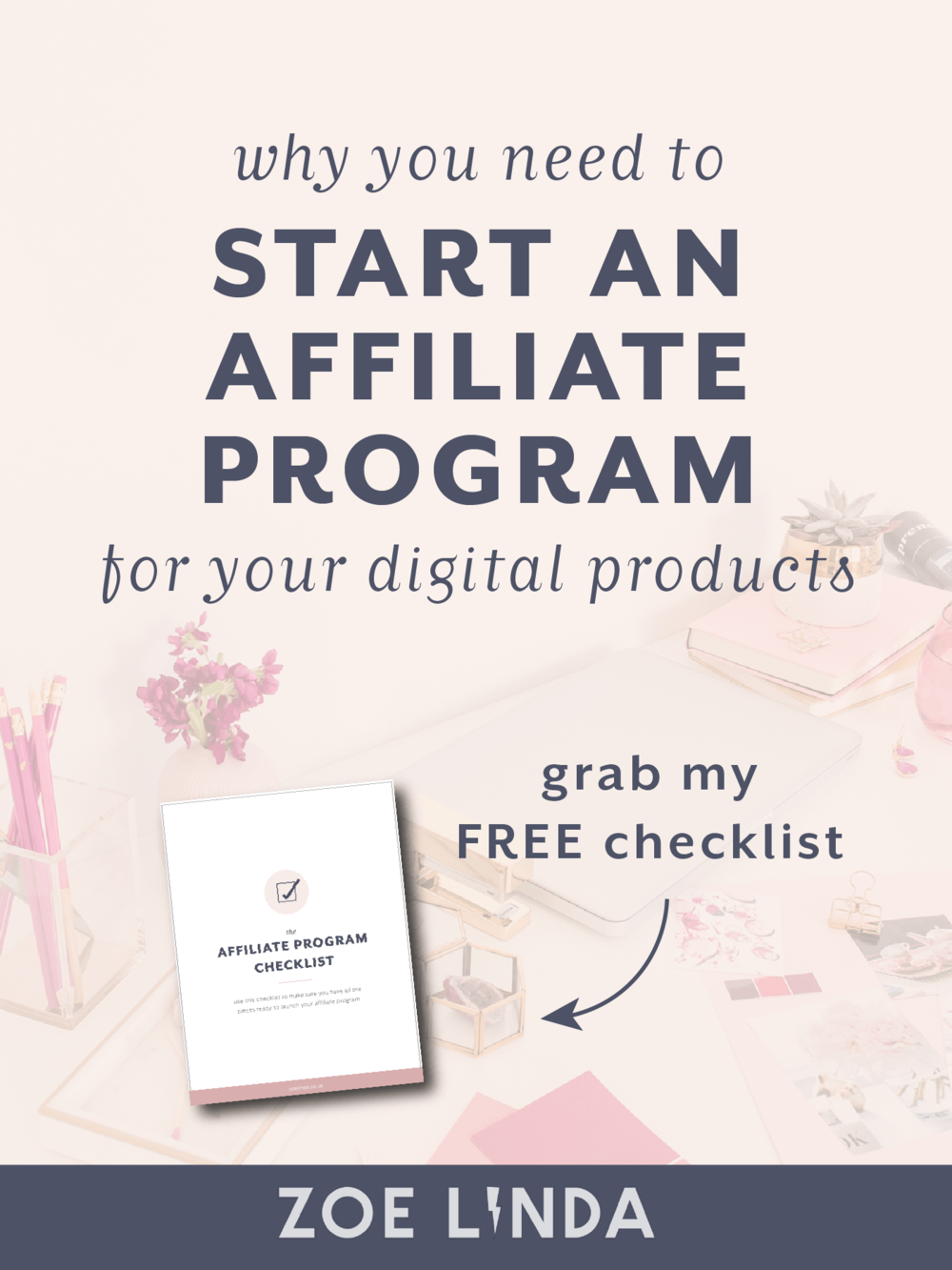 Why You Need To Start An Affiliate Program For Your Digital Products | Launching a digital product is hard enough as it is without adding affiliates into the mix. Why should you bother? This blog post tells you why you should work with affiliates if you create and sell digital products, online courses, or infoproducts. This post is perfect if you're looking to create multiple revenue streams or work on your passive income!