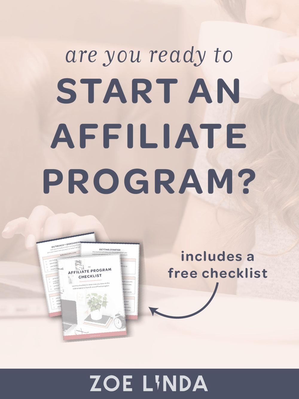Are You Ready To Start An Affiliate Program? | If you're a digital product seller or online course creator, you could be thinking about starting your own affiliate program. But how do you know you're ready? In this blog post, I'll walk you through how to tell if you're ready to increase your passive income and scale your business through an affiliate program. Click through to read more and grab your free checklist!
