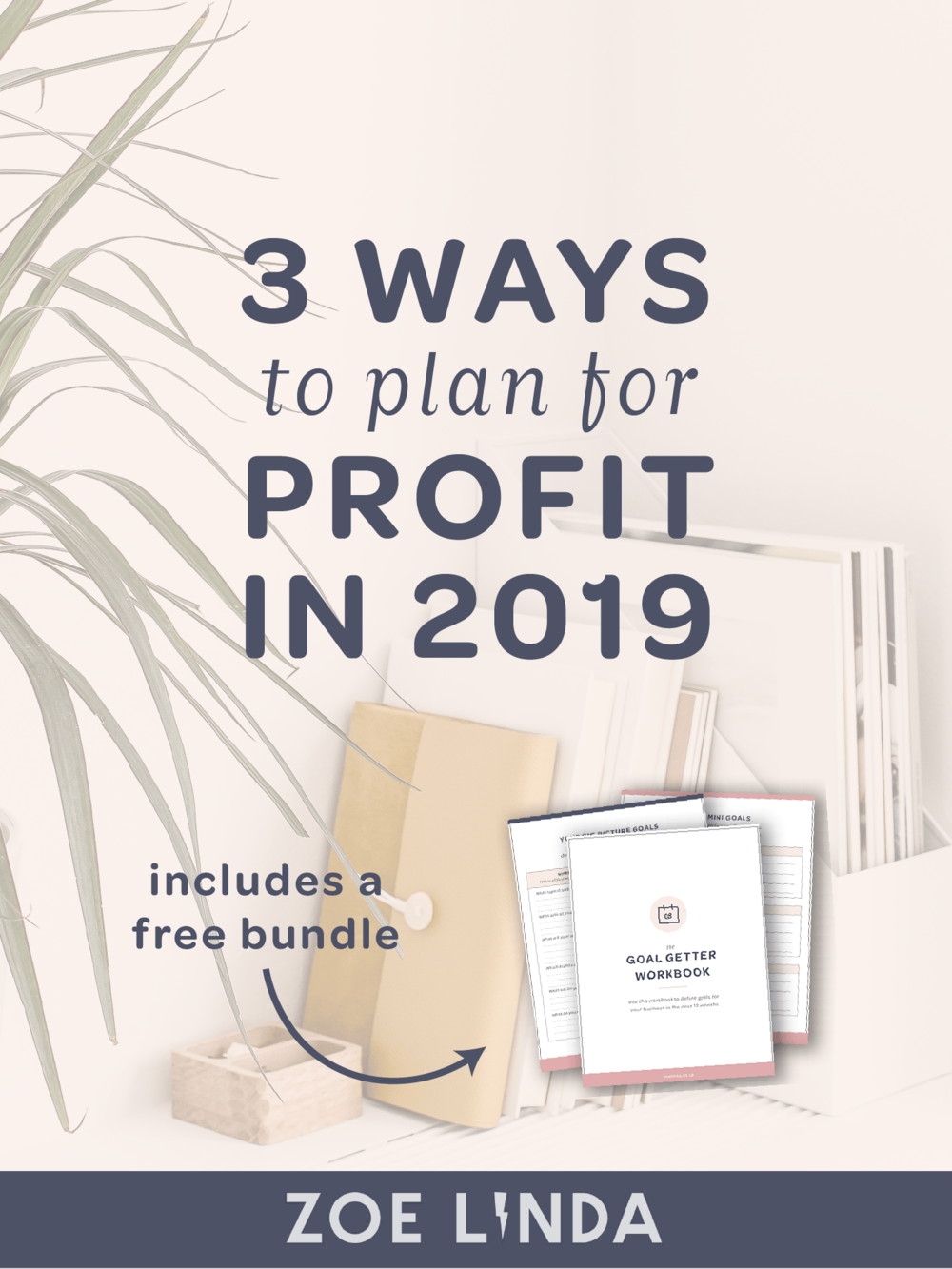 3 Ways To Plan For Profit in 2019 | Do you want to generate consistent income in 2019? Click here to learn how to create a sustainable and profitable business plan that leaves you feeling confident and planned for the year ahead! This blog post is perfect for online entrepreneurs, small business owners, and professional bloggers. You can also get free access to my goal setting bundle to help you with your business strategy!