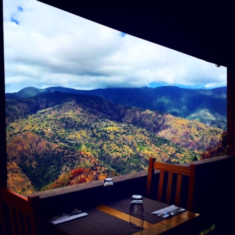 BREATHTAKING VIEW FROM THE BLUE RIDGE DINING ROOM