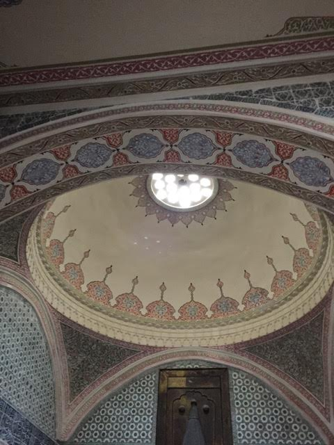 DOMED CEILING IN TOPTAKI PALACE