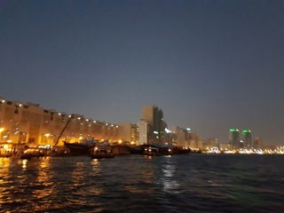 View Of The City From The Dubai Creek