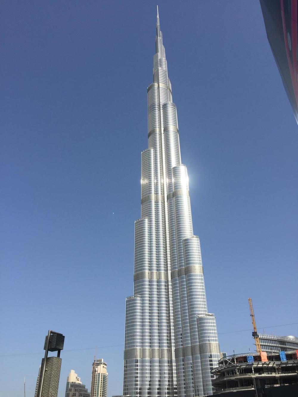 The Burj Al Khalifa