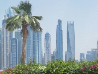The Dubai City Skyline Is A Spectacular Mix Of Architectural Shapes and Designs
