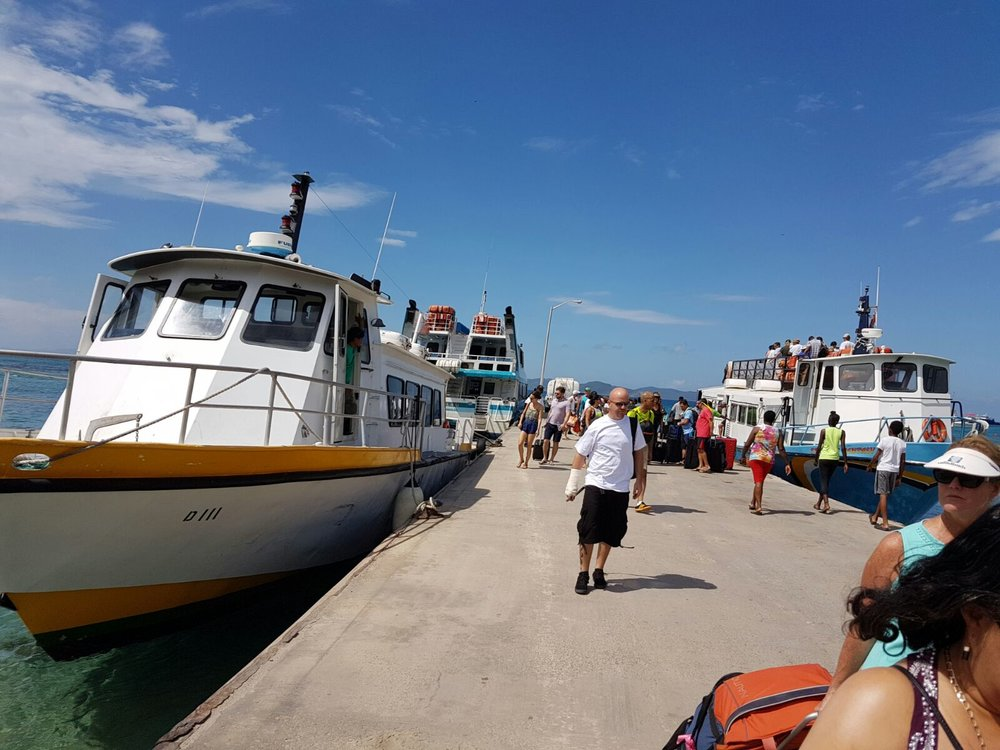 Catching The Ferry To Virgin Gorda
