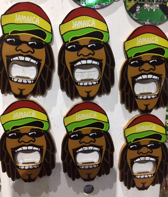 Rasta Bottle Opener - $515 ea My Jamaica