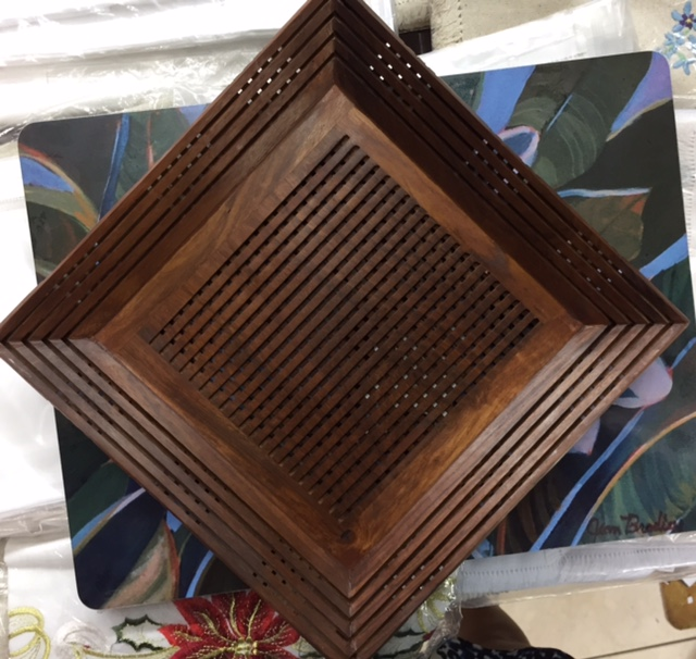 Asstd Wooden 'Weave' Trays - $1400 - $2300 Craft Cottage