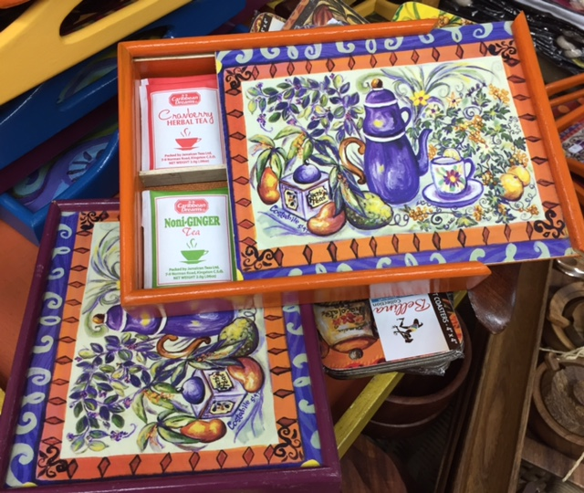 Asstd Herbal Teas and Hand Painted Box - $3000 Craft Cottage